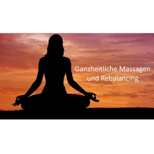 Praxis für Ganzheitliche Massagen - Dieter Giesler