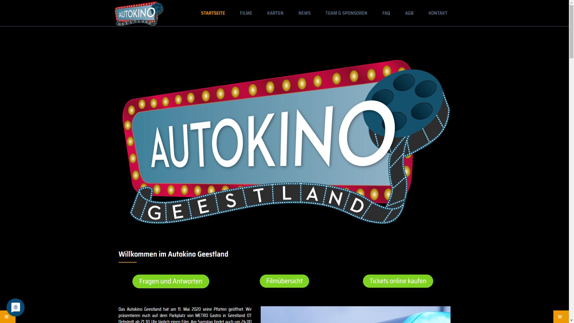 Event - Autokino Geestland