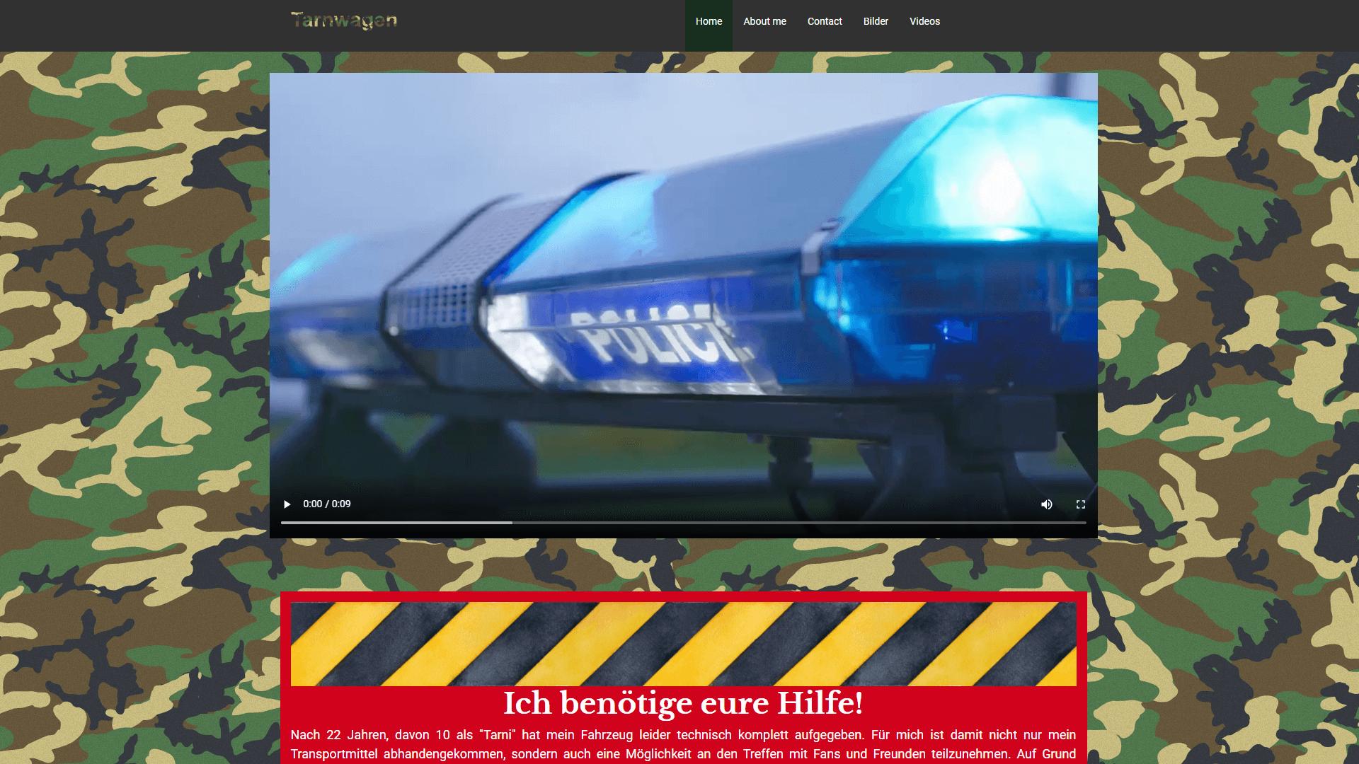 Sponsoring - Tarnwagen.de