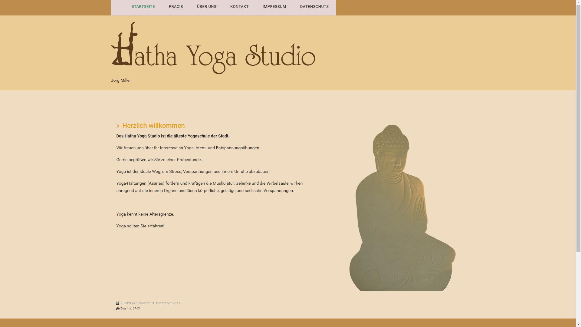 Unternehmen - Yogastudio Miller