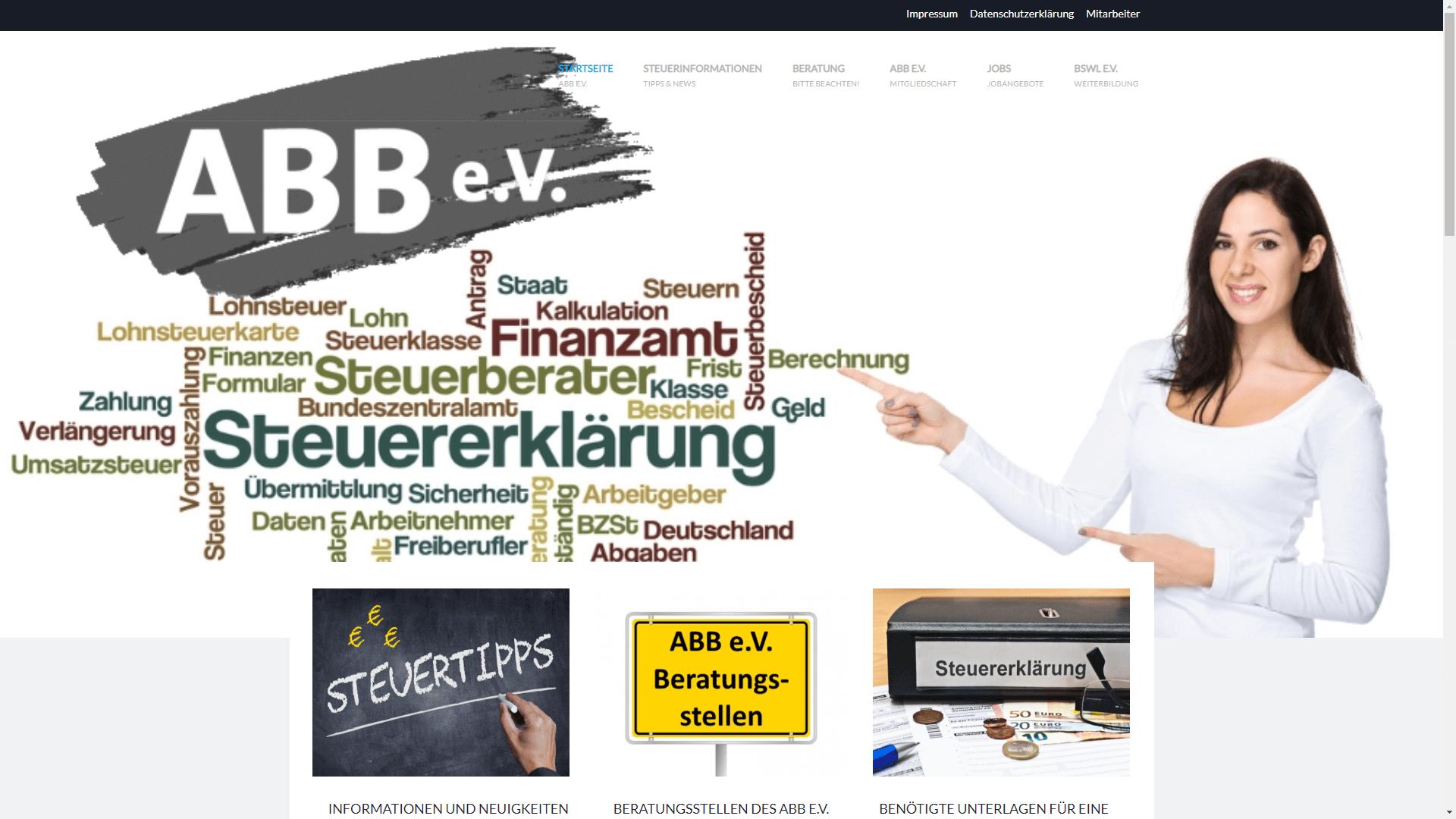 Verein - ABB Lohnsteuerhilfeverein e.V.