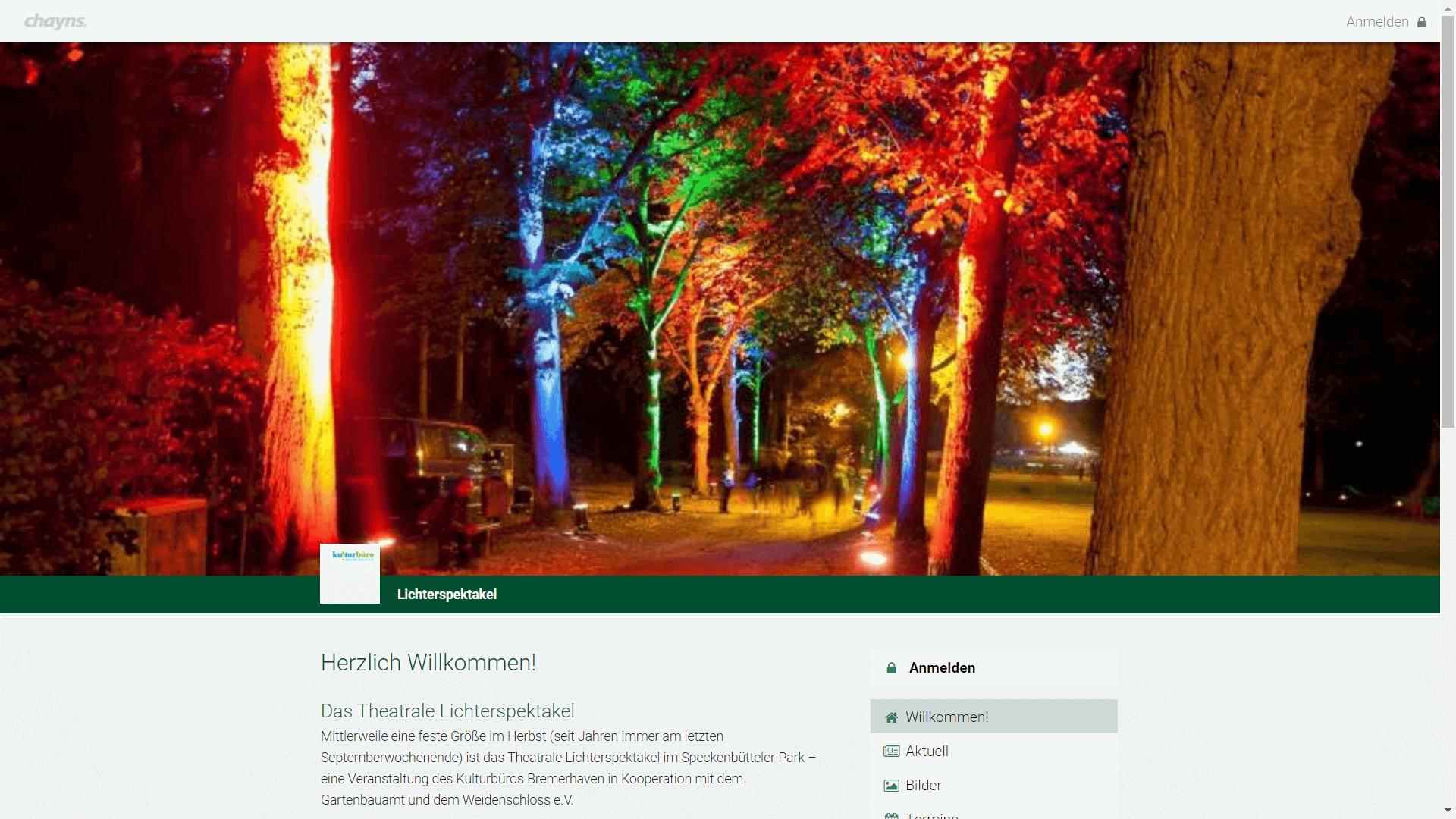 Event - Theatrales Lichterspektakel