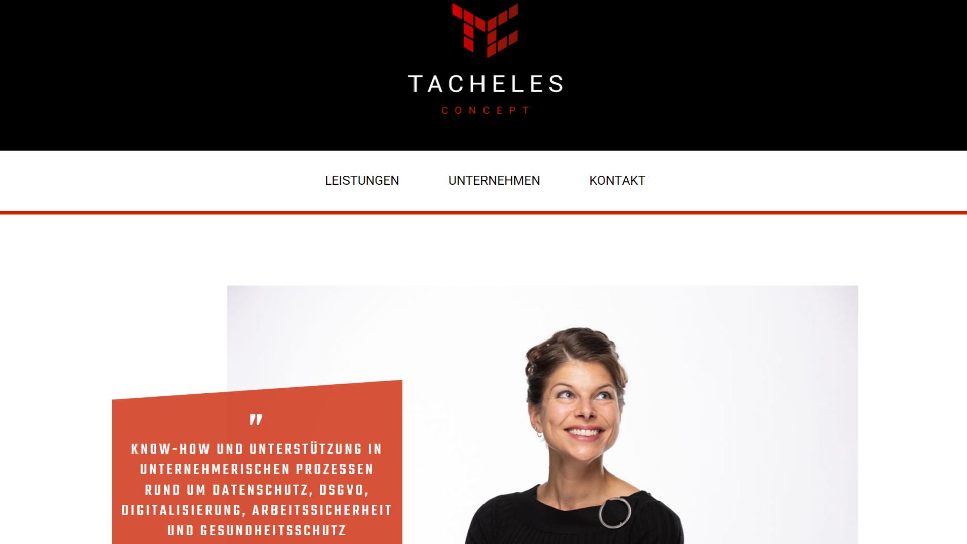Unternehmen - Tacheles Concept GmbH