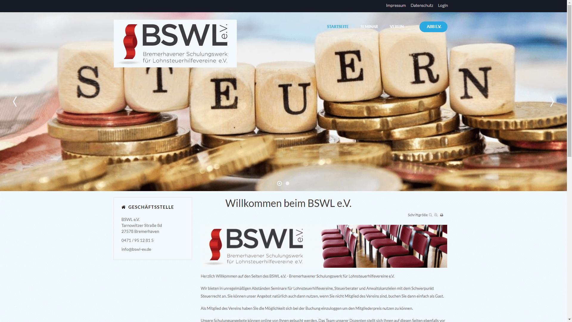 Verein - BSWL e.V.