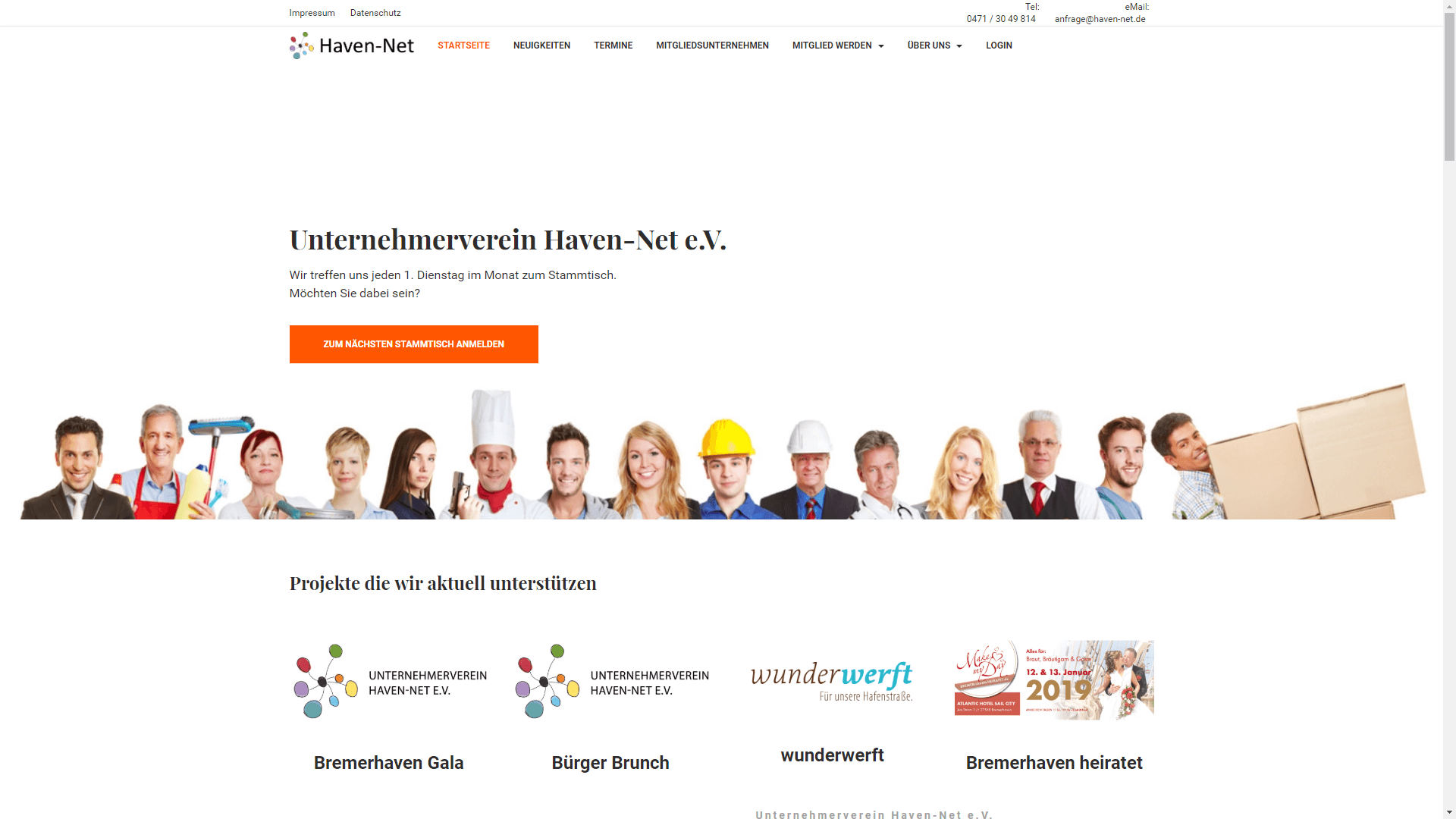 Verein - Unternehmerverein Haven-Net e.V.